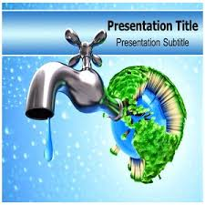 Water Powerpoint Templates by Save Water Powerpoint Template Backgrounds On