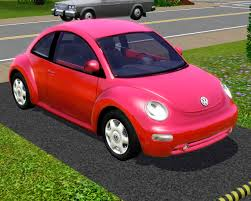 volkswagen new beetle pink fresh prince creations sims 3 2003 volkswagen new beetle