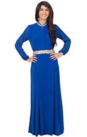 koh koh womens long sleeve embellished vintage formal flowy gown