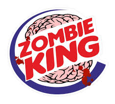 jdm car stickers zombie king funny vinyl car van bumper window sticker decal jdm