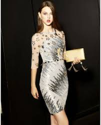 silver new years dresses club dress cheap party dresses for special occasion ricici