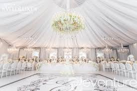 ceiling draping for weddings tent liners draping from eventure designs toronto