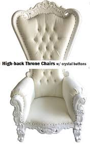 throne chair rental rentals