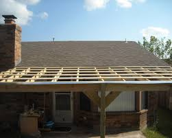 Build An Awning Over Patio by How To Build A Patio Cover With A Corrugated Metal Roof Metal