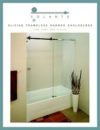 Mr Shower Door Norwalk Ct Volante Frameless Enclosures