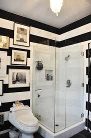 Best Decorate Bathroom Images On Pinterest Bathroom Ideas - Black and white small bathroom designs