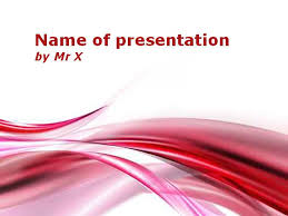 powerpoint design colors abstract red color gradient powerpoint template