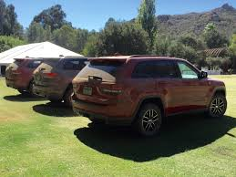 jeep ads 2017 review grand cherokee trailhawk is the plush way to off road a jeep