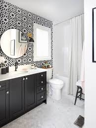 bathroom tile ideas houzz captivating black and white bathroom tile ideas best black and