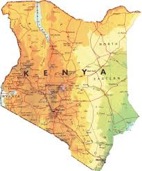 geographical map of kenya beginner s guide to kenya history