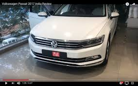 volkswagen passat india spec 2017 vw passat reaches dealership in 10 live images