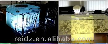 Led Light Base For Centerpieces by Battery Charge Furniture Lighting Base Under Table Led Light For