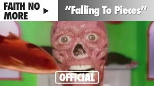 videos s nine highly badass faith no more falling to pieces official music video youtube