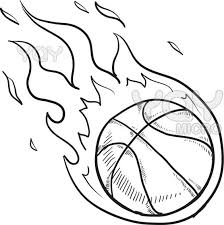 Free Printable Basketball Coloring Pages Funycoloring Basketball Color Page