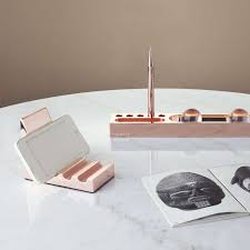 top desk accessories to create an organized well dressed desk