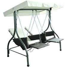 hammock bench swing lounger rattan garden 2 swing chair hammock bench bed