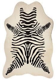 Genuine Zebra Rug Crafty Ideas Zebra Skin Rugs Innovative Decoration Galart