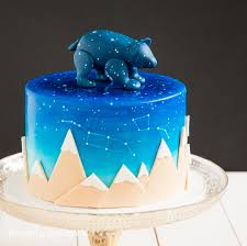 a very special and unique baby shower cake for baby ursa the