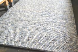 pebble rug pebble candy bean large 100 heavy wool rug 2cm thick 160x230cm