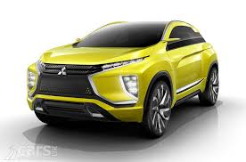 mitsubishi concept mitsubishi concept xr phev ii revealed looks like the new asx