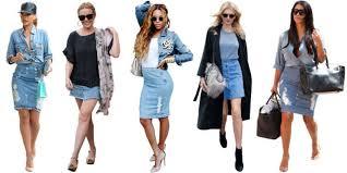 denim skirts 3 modern ways to wear a denim skirt college fashion