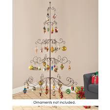 the heirloom ornament display tree hammacher schlemmer