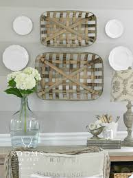 tobacco baskets wall decor decorate pinterest tobacco basket