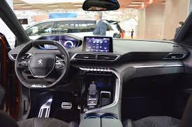peugeot 3008 2017 2017 peugeot 3008 interior dashboard at 2016 bologna motor show