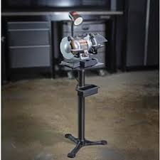 Harbor Freight Bench Grinder Stand Craftsman 1 6 Hp 6