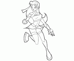 starfire coloring pages kids adults coloring