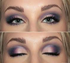 how to do wedding makeup for blue eyes