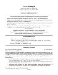 writing a resume for it professionals example cover letter science