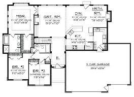 ranch floor plans open concept open floor ranch house plans processcodi com