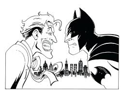 Batman Vs Joker Coloring Pages 55 Awesome And Beyond Return Of The Coloring Pages Joker