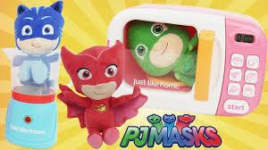pj masks plush doll toys dolls u0026 magic microwave