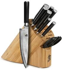 the best shun knife sets from japan with love shun classic piece knife block set review