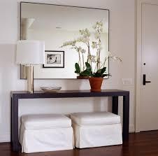 narrow entryway console table modern foyer furniture entryway console and mirror set modern