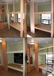 Best  Caravan Bunks Ideas On Pinterest Bunkhouse Travel - Travel trailer with bunk beds