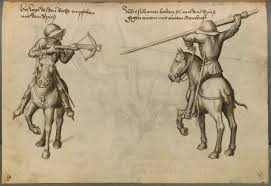 the crossbows in 1467 talhoffer look like they might be