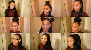 expression braids hairstyles 9 box braid hairstyles youtube