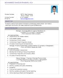 chartered accountant resume 175 free resume templates word pdf psd samples creative template