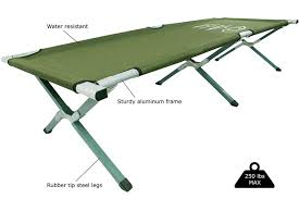 Portable Folding Bed Camping Bed Frame Susan Decoration
