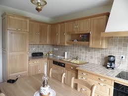 cuisine en bois cuisine en bois chêne en photo