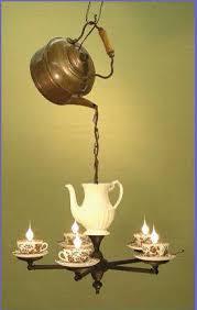 Alice In Wonderland Chandelier Tea For Four Light Crafts And Such Pinterest Teas Lights