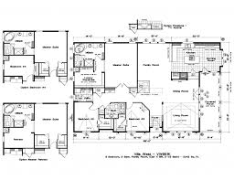 floor plan for homes with large home floor plans for mobile homes
