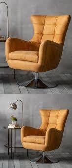 Retro Swivel Chairs For Living Room Design Ideas Vintage Swivel Armchair Tub Chair Mid Century Retro