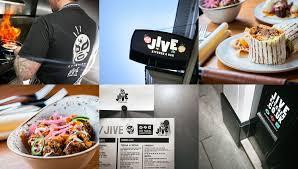 restaurant branding for jive kitchen u0026 bar norwich
