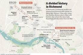 Map Of T Boston by Richmond Split Over How To Remember Confederate History The
