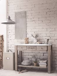 Kitchen Console Table With Storage Free Standing Kitchen Storage Solutions Metal Topped Console Table