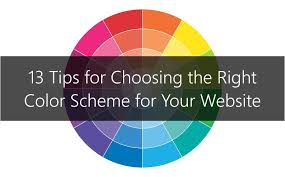 choosing a color scheme choosing the right color scheme for your website qualbe